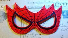 hombre araña super héroe inspirado máscara por TheHoopBooteek