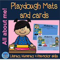 #allaboutme #playdough #playdoughmats #playdoughcards #english #reading #teacha #treasuresforthematicteaching These mats and cards are great for primary school children. Although time away from writing, reading and numeracy skills are still being practiced.