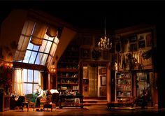 Old Acquaintance 2007 Revival American Airlines Theater (Selwyn) Set Designer : Alexander Dodge