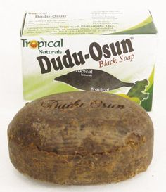 $72.00 Specially formulated entirely from natural ingredients and herbs, this soap will have you feeling refreshed and silky smooth. Dudu-Osun Black Soap restores damaged skin and is helpful in healing chronic eczema, acne, freckles, and dark spot. Scented with Osun (camwood extract), citrus juices, native honey, Aloe Vera, and natural vitamins. Weight: 150 grams per bar. Made in Nigeria. Ingredients: Pure honey, Shea butter, OSUN (camwood)...