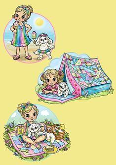 Cute Sketchbooks, Children Images, Vintage Greeting Cards, Digi Stamps, Cute Illustration, Scrapbooking, Line Drawing, Cute Cartoon, Cardmaking