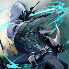 Anime Fantasy, Dark Fantasy Art, Ghost Rider Drawing, Character Art, Character Design, Cyberpunk Anime, Ninja Art, Cool Anime Pictures, Cool Anime Guys