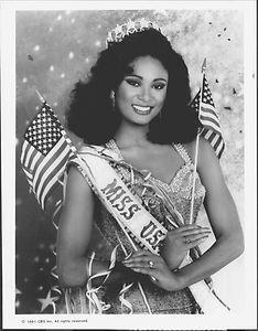 Miss USA Carol Gist (1990)