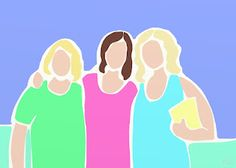 """Three Sisters"" ACBee."