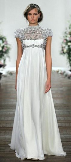 Jenny Packham. I like these proportions as a great alternative to usual empire-waist options. jaglady get more only on http://freefacebookcovers.net