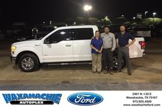https://flic.kr/p/ND2Qvh   Happy Anniversary to Rick on your #Ford #F-150 from Justin Bowers at Waxahachie Ford!   deliverymaxx.com/DealerReviews.aspx?DealerCode=E749