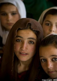 Afghan school girls.