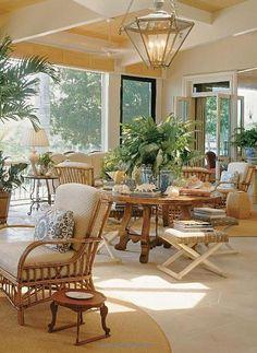 Beach house by David Easton - the center table
