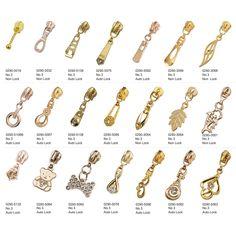 Zipper Slider And Pull For plastic zippers, nylon zipper, invisible zipper, metal zipper, resin zipper. All available At MH Zipper Sewing Supplies. Sliders, Zipper, Bracelets, Bags, Jewelry, Flat Irons, Handbags, Jewlery, Jewerly