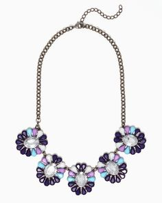 Candy Petals Collar Necklace | Jewelry | charming charlie