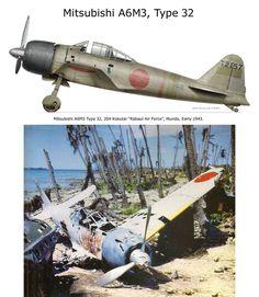 Mitsubishi A6M3 Type 32