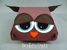 addINKtive designs: Hamburger Box Critters - Owl and Koala