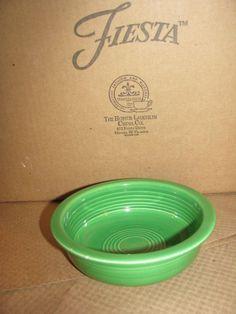 Fiesta, Fiestaware, Vintage 5 1/2 inch Fruit Bowl - Medium Green - Very Nice