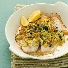 Artichoke-Parmesan Stuffed Tilapia Recipe - This was good! I used frozen tilapia, which added a few minutes to the cooking time but it still turned out nicely. It's very light. Tilapia Recipes, Fish Recipes, Seafood Recipes, Cooking Recipes, Healthy Recipes, Cooking Time, Skinny Recipes, Dinner Recipes, Gourmet