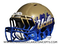 Charles Sollars Concepts @charlessollars #UCLA #pac12 http://www.charlessollarsconcepts.com/ucla-helmet-concepts/