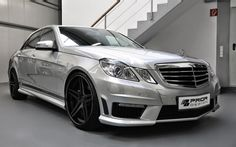 e63 amg prior design Mercedes Benz E550, Mercedes E Class, Benz E Class, Amg Car, E63 Amg, Top Luxury Cars, Pretty Cars, Car Sit, Top Cars