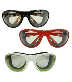 Cooking Goggles. You wont shed a tear while chopping onions if youre wearing a pair of these guys!