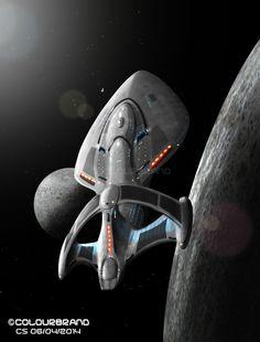 Enterprise-F: Quantum Class by Colourbrand on deviantART