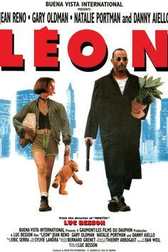 The Professional--Leon--Reprint of International Poster--Natalie Portman Jean Reno, The Professional Movie, Professional Poster, Leon The Professional Mathilda, Iconic Movies, Old Movies, Vintage Movies, Gary Oldman, Mathilda Lando