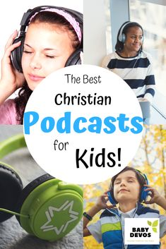 The Best Christian Podcasts for Kids. Podcasts for Christian children. Podcasts for older kids and younger kids. Christian podcasts for naptime, bedtime, and calm. Podcasts for rest and peace in your home. Bible Study For Kids, Bible Lessons For Kids, Kids Bible, Christian Kids, Christian School, Christian Families, Christian Faith, Raising Godly Children, Raising Kids