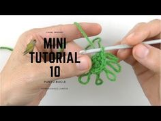 Punto bucle mini tutorial ( loop Stitch) - YouTube