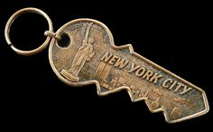 New York. This key is the most awesome key ever. I love it.