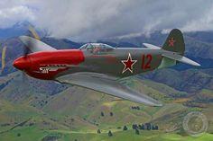 YAK 3 Avions Ww2, Avions De Chasse, Avion Militaire, Art De L'avion, Jet Privé, Luftwaffe, Cool Cats, Avion Russe, Photos