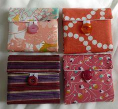 Zakka Tea wallets - fronts | Flickr - Photo Sharing!