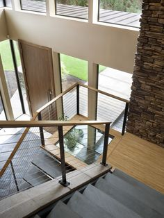 Contemporary Staircase Design, Pictures, Remodel, Decor and Ideas - page 3