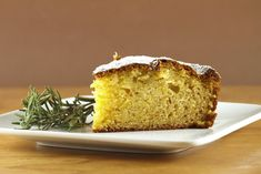 for an incredibly delicious moist cake, you have to try my olive oil cake with hints of orange and rosemary. Perfect for dessert, coffee, or breakfast.