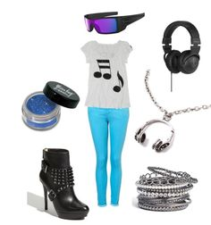 DJ Pon3 from MLP!!! I would wear the hell out of this!