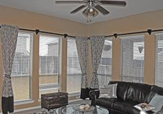 PVC Pipe Curtain Rods- i was just wondering if i could find a curtain rod long enough for my living room! Pipe Curtain Rods, Drapery Rods, Long Curtains, Drapes Curtains, Sheet Curtains, Burlap Curtains, Hanging Curtains, Pvc Pipe Projects, Home Projects