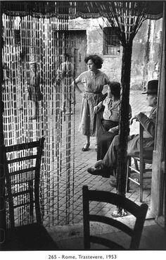 Henri Cartier - Bresson Rome, 1953