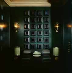 Dark Dark Green, nearly black... Anouska Hempel Design | Architects, Interior Design, Landscapes, Product Design and Furniture