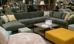 Cottage sectional Cozy Furniture, My Escape, Cottage Living, Living Room Designs, Townhouse, My House, Basement, Condo, Relax