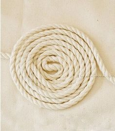 Diy 10 Yards Ivory Rustic Natural Cotton Rope Twine Art Decor Craft Supplies