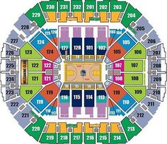 Oracle arena parking map warriors game golden state warriors
