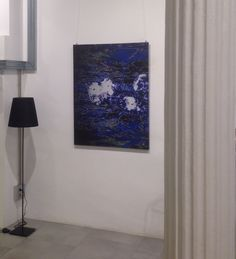 Obra : PARADISE BLUE Art Digital by VANITIRA Exposición en sala MEZANINA-Barcelona