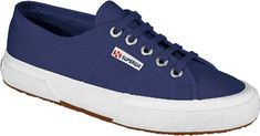superga 2750 classic in maritime canvas.