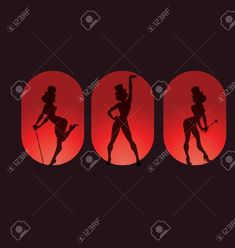 Poster design pin up style silhouette of dancing woman perform cabaret burlesque show Illustration , Burlesque Show, Le Moulin, Pin Up Style, Cabaret, Illustration Art, Illustrations, Kids Outfits, Silhouette, Children Clothes