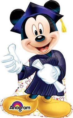 Mickey Graduation Super Shape Globo Met Gradu, COD: 3002002, UPC Code: 3002002, Venta En Linea, Mayoreo Globos, Metálicos/Mylar/Metalizados, Graduacion, México. Teleglobos.com