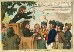 Sailors at a Methodist Sermon   ca. 1819