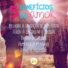 Os benefícios do amor! <3 http://maisequilibrio.com.br/ #diadosnamorados #valentines #love