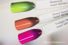 Le Chat Perfect Match Mood Gel Polishes