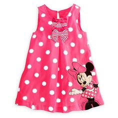 Girls Cute Minnie Mouse Dress