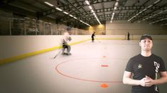 Inline Hockey Drills Training Exercise 1