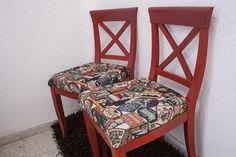 Apunta todos los pasos que debes seguir para retapizar tú mismo una vieja silla.