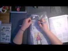 Cortaline Bible art journaling video#6