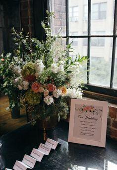 Metropolitan Building wedding flowers wedding decor
