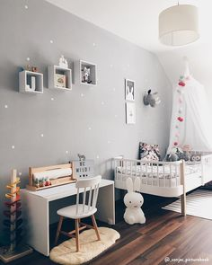 Infantile decoration with animals. 10 ideas to make room for them in your room - Decor Scan : The new way of thinking about your home and interior design Baby Bedroom, Baby Room Decor, Nursery Room, Boy Room, Girls Bedroom, Child Room, Living Room Decor, Bedroom Ideas, Bedroom Decor